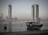 Záliv v Sharjah.